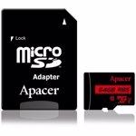 Card MicroSDXC cu adaptor, Apacer 64GB UHS-I clasa 10 , 85MB/s