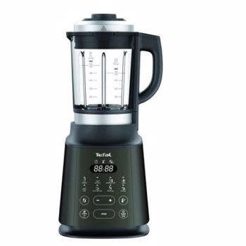 Blender Tefal BL965B38 Ultrablend Cook, 1.7L, 10 trepte viteza, 1300W (Negru)