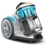 Aspirator fara sac Vax C85-AM- P-E Multi Cyclone, gri-albastru