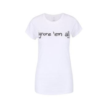Tricou alb de dama ZOOT Original Ignore