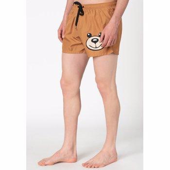 Pantaloni scurti de baie, cu imprimeu grafic