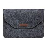 Husa plic Krasscom universala pentru Macbook Tablete 15 inch negru mac035