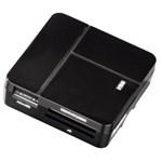 Cititor de carduri All in One HAMA 94124, USB 2.0, negru