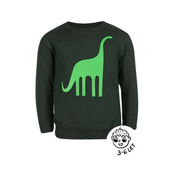 Bluza ZOOT Kids verde cu model dinozaur pentru baieti