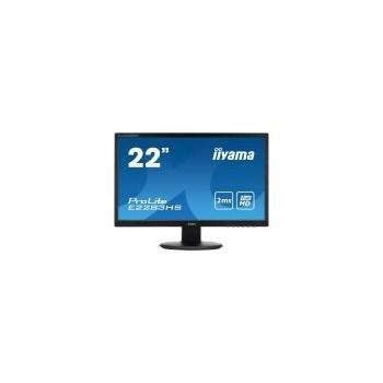 Monitor LED IIyama ProLite E2283HS 21.5 inch 2ms black