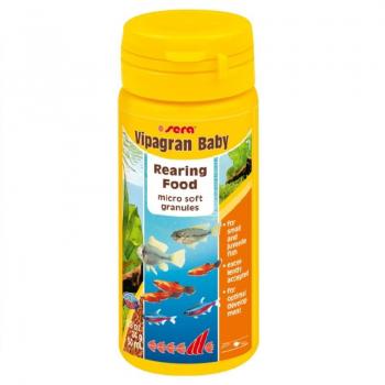 Hrana Granulata pentru Pesti Sera Vipagran Baby 50 ml