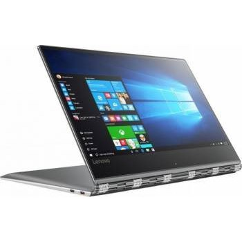"""Notebook / Laptop 2-in-1 Lenovo 13.9"""" Yoga 910, FHD IPS Touch, Procesor Intel® Core™ i5-7200U (3M Cache, up to 3.10 GHz), 8GB DDR4, 256GB SSD, GMA HD 620, Win 10 Home, Silver"""