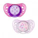 Suzeta Chicco silicon Physio Air 6-12 luni 2 buc roz