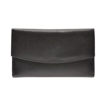 Portofel EPICA negru, 107, din piele naturala