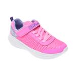 Pantofi sport SKECHERS roz, Go Run Fast Viva Valor, din material textil