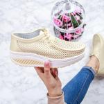 Pantofi dama Piele casual bej Lumesia-rl