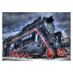 Puzzle KS Games - Giuseppe Rosati: Locomotive, 200 piese (11329)