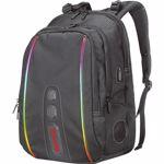 Rucsac cu iluminare RGB Marvo BA-02 Negru marvo_ba02