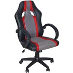 Scaun Gaming Spacer Red53 imitatie piele material textil greutate max. 120kg Black-Red sp-gc-red53