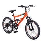 Bicicleta pentru copii Byox Versus Orange 6 viteze 20 inch
