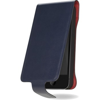 Husa Flip Cover Cygnett Lavish iPhone 5 5S SE Blue cy0864cplav