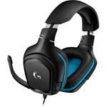 Casti Logitech G432 7.1 Surround Sound Wired Gaming Headset, USB, Leatherette