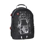 Rucsac Tech Teen, LEGO Core Line - design negru Minifigure