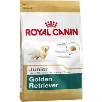 Royal Canin Golden Retriever Puppy, hrană uscată câini junior, 3kg