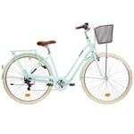 Bicicletă Oraș cadru jos Elops 520 Albastru B'TWIN