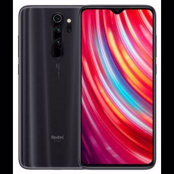 Smartphone Xiaomi Redmi Note 8 Pro, Gorilla Glass 5, Octa Core, 64GB, 6GB RAM, Dual SIM, 4G, 5-Camere, Baterie 4500 mAh, Fast Charge, Mineral Grey