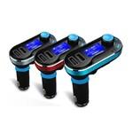 Modulator FM si Car Kit MP3, BG02 Incarcator Auto cu doua porturi USB si Transmitator cu Telecomanda