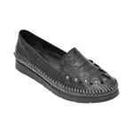 Pantofi ECLIPSE negri, 1429, din piele naturala