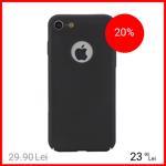 Husa Capac spate Dot Negru Apple iPhone 7, iPhone 8