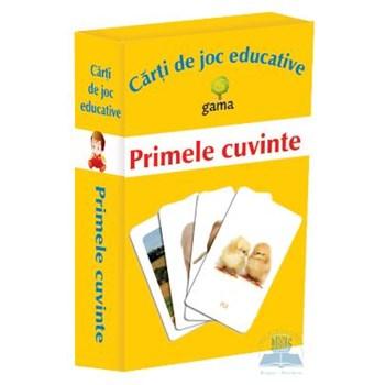 Primele cuvinte - Carti de joc educative 369383