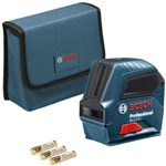 Bosch Professional 0601063L00 GLL 2-10 Laser Level GLL 2-10 (Working Range, Up to 10 m, 3x Batteries, AA, in Cardboard Box)