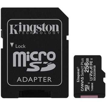 Card de memorie Hama SDXC256GB, 256GB, Clasa 10 + Adaptor