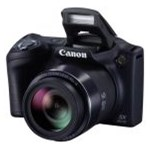 Aparat foto digital Canon PowerShot SX410, 20MP, Black
