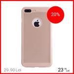 Husa Capac spate Dot Auriu Apple iPhone 7 Plus, iPhone 8 Plus