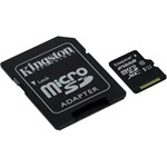 Card de memorie Kingston MicroSDXC, 256GB, Class 10 + Adaptor