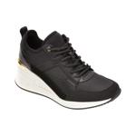 Pantofi sport ALDO negri, Thrundra001, din material textil si piele ecologica