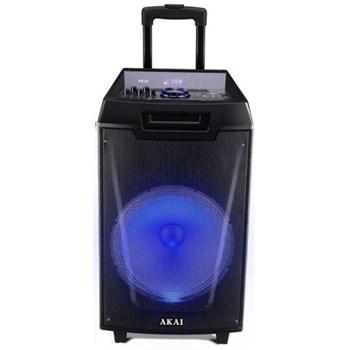 Boxa portabila Akai ABTS-AW12 cu BT, lumini disco, functie inregistrare, microfon