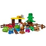 Set de constructie LEGO Duplo Forest: Animals