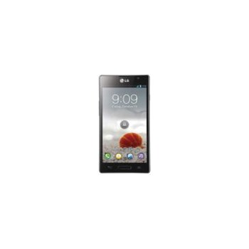 "Telefon Mobil LG Optimus L9 P760, Procesor A9 Cortex Dual Core 1GHz, Android 4.0.4 ICS, IPS LCD capacitiv touchscreen 4.7"", 5MP, 4GB, Wi-Fi, 3G (Negru)"