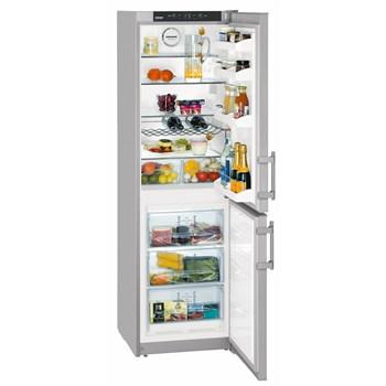 Combina frigorifica Liebherr CNSL 3033, 276 l, No Frost, clasa A+, inaltime 180 cm, argintiu