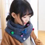 Fular simpatic pentru copii, model calduros ?i delicat pentru iarna, pe mai multe culori