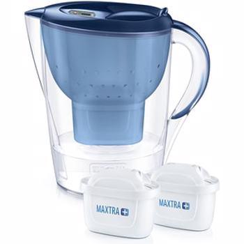 Cana filtranta Marella XL 3 5 l cu 2 cartuse MAXTRA+ albastra - Brita br1040565