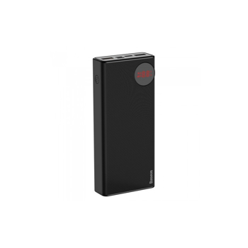 Baterie Externa Power Bank, Baseus Mulight Power Display, 20000 mAh, Negru
