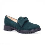 Pantofi dama casual piele naturala verzi Orme