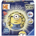 Puzzle 3D Luminos Minions