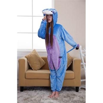 PJM6-4 Pijama intreaga kigurumi, model magar