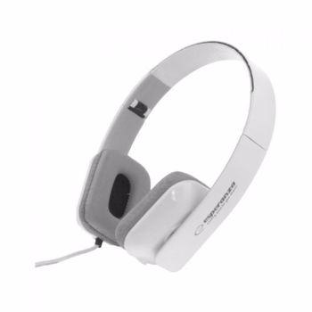 Casti pliabile stereo HiFi super BASS Jack 3.5 mm potentiometru Esperanza Aruba eh143w