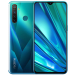 Smartphone Realme 5 Pro, Gorilla Glass, Snapdragon, Octa Core, 128GB, 8GB RAM, Dual SIM, 4G, 5-Camere, Baterie 4035 mAh, Crystal Green