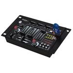 Mixer DJ Ibiza, 7 canale, Bluetooth, USB/MP3, functie talkover