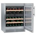 Vitrina de vinuri Liebherr Premium WTes 1672 123 Litri Clasa A Silver