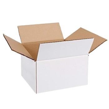 Cutie carton 190x150x140, alb, 3 straturi CO3, 470 g/mp